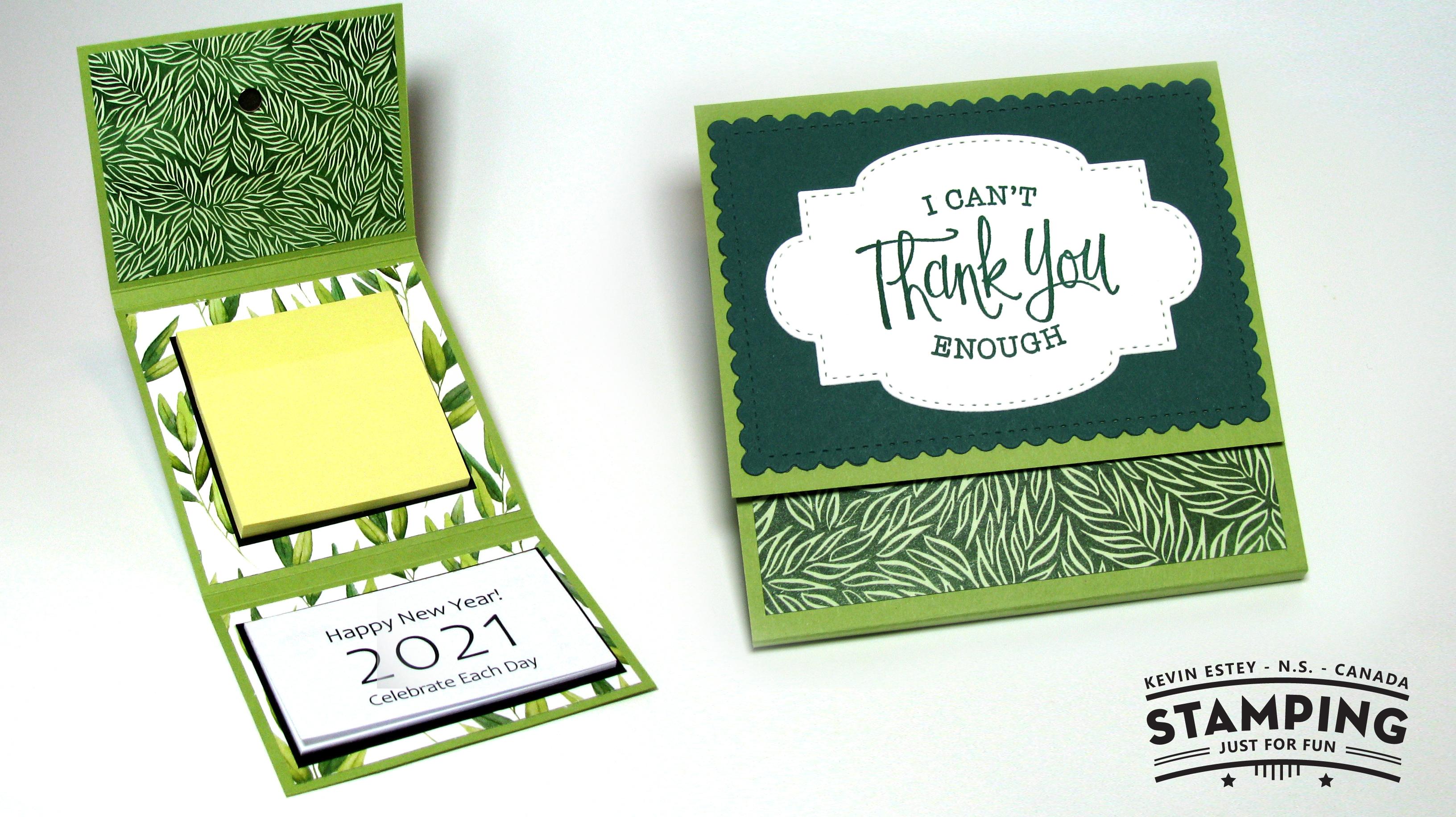 2021 Calendar Notepad Walet