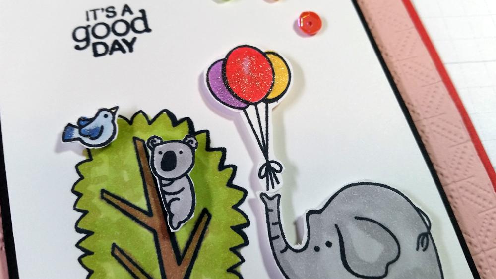 TGCDT July 2020 Blog Hop - An Elephant, A Kangaroo, A Giraffe and a Koala Go To A Party