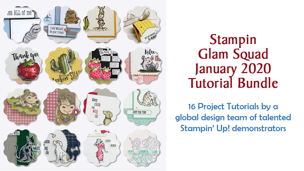 January 2020 Glam Squad Tutorial Bundle -