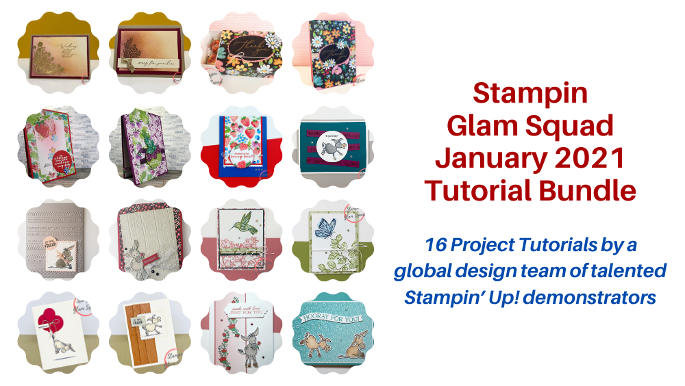 January 2021 Glam Squad Tutorial Bundle -