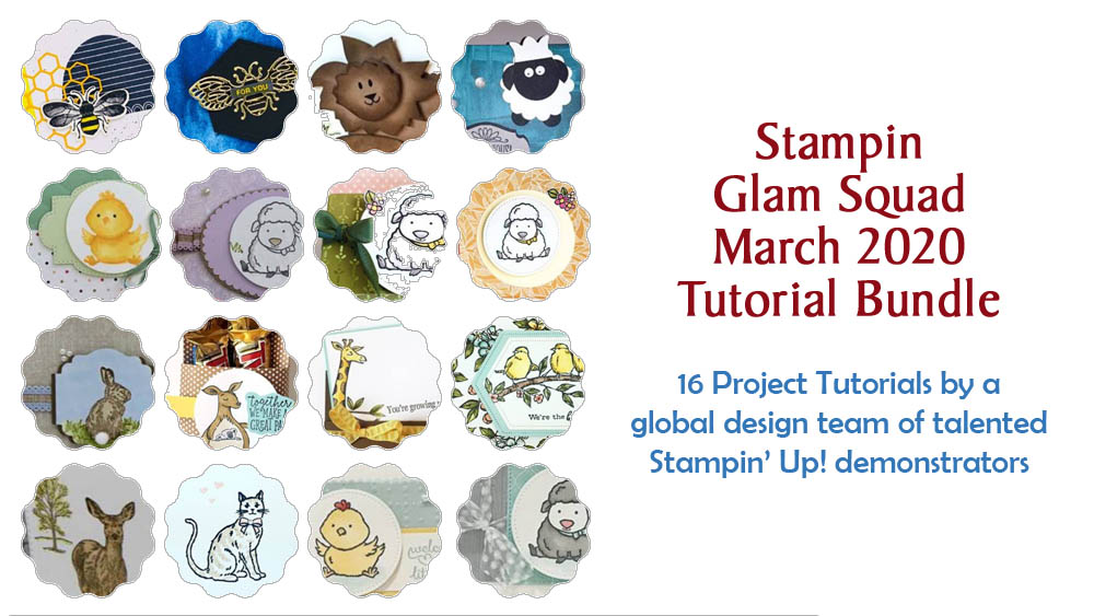 March 2020 Glam Squad Tutorial Bundle -