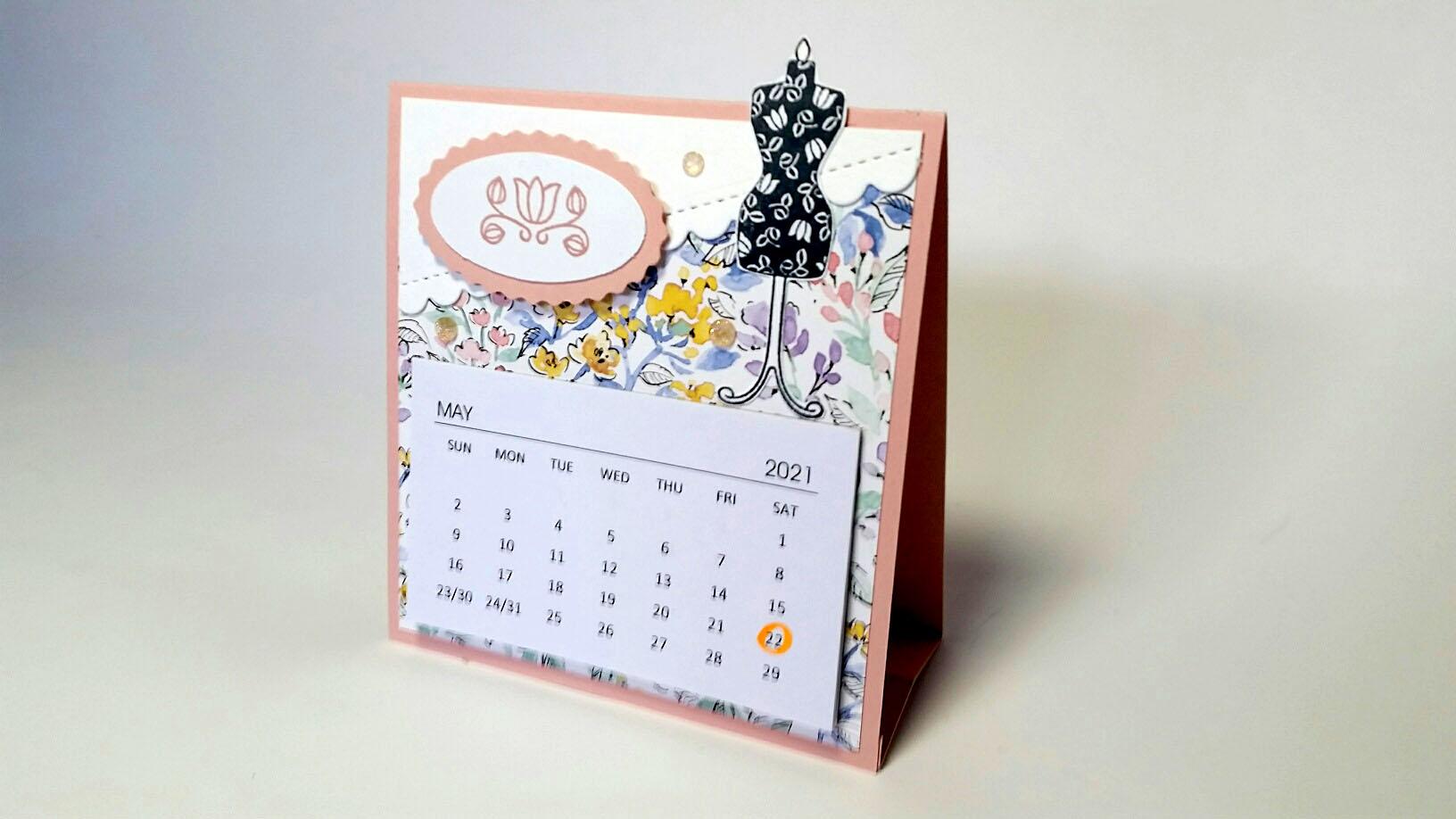 Padded Mini Craft Calendars