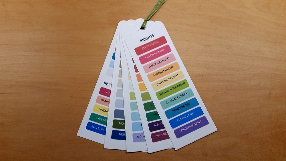 Colour Swatches PRINTABLE